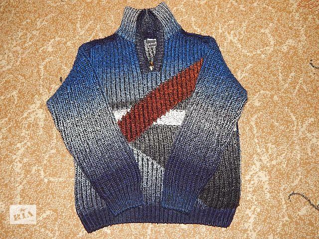 бу Продам зимний свитер толстой вязки(английская резинка),размер 52-54 в Виннице