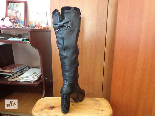продам Продам зимние кожаные сапоги бу в Гайсине