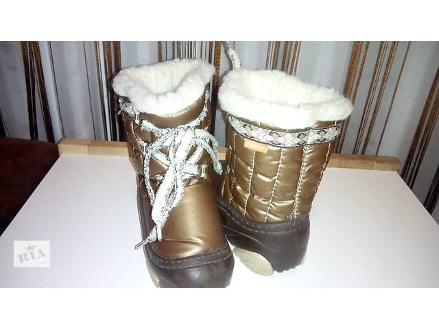 бу Продам зимові сапожечки фірми Демар,коричневі, розмір 22-23 в Виннице