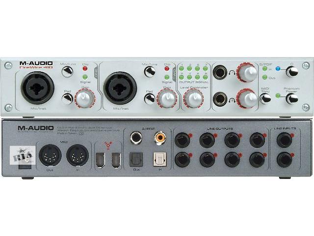 купить бу Продам Аудио интерфейс M-Audio Firewire 410 в Киеве