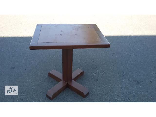 продам Продам деревянный стол б.у. для кафе, баров, ресторанов бу в Киеве