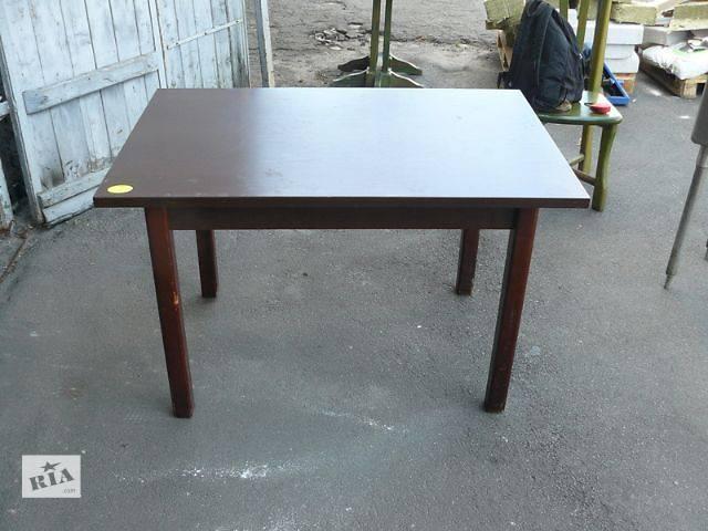 Продам деревянный стол коричневый для кафе, бара, ресторана, общепита- объявление о продаже  в Киеве