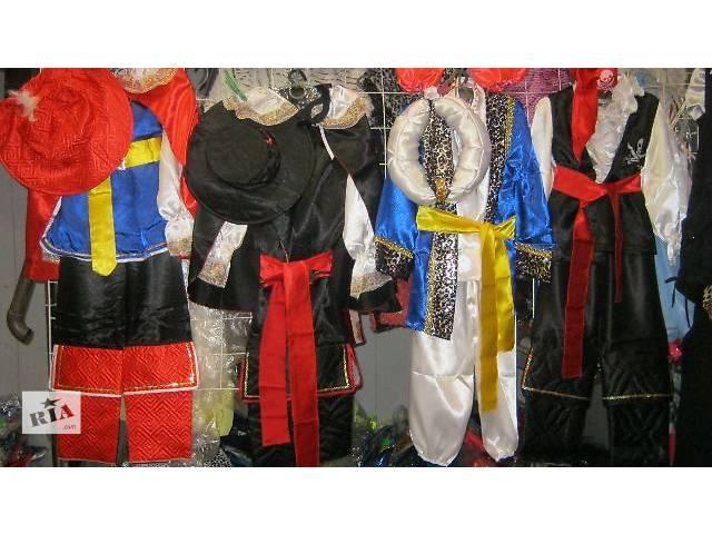 продам Продам детские карнавальные костюмы новые костюмы бу в Одессе