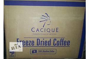 Продам Кофе Касик растворимый сублимированный фриз-драйд,по 25кг в заводской вакуумной упаковке.