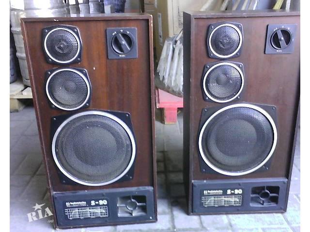 Колонки radiotehnika s-90