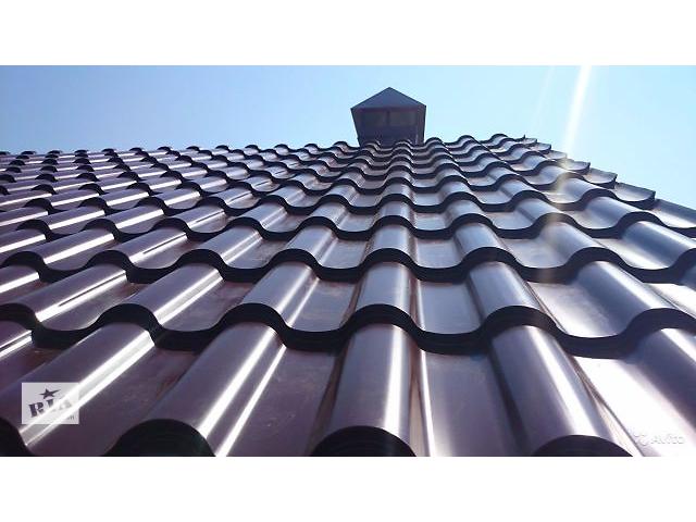 купить бу Продам металлочерепицу Suntile 0.45 мм глянцевую в Днепре (Днепропетровске)