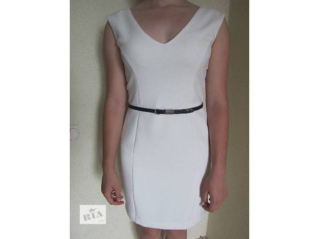 Продам стильное красивое платье с поясом- объявление о продаже  в Харькове