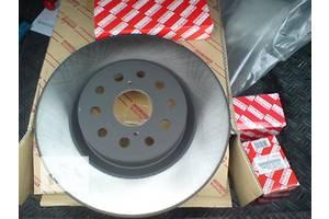 тормозные диски toyota corolla 2007