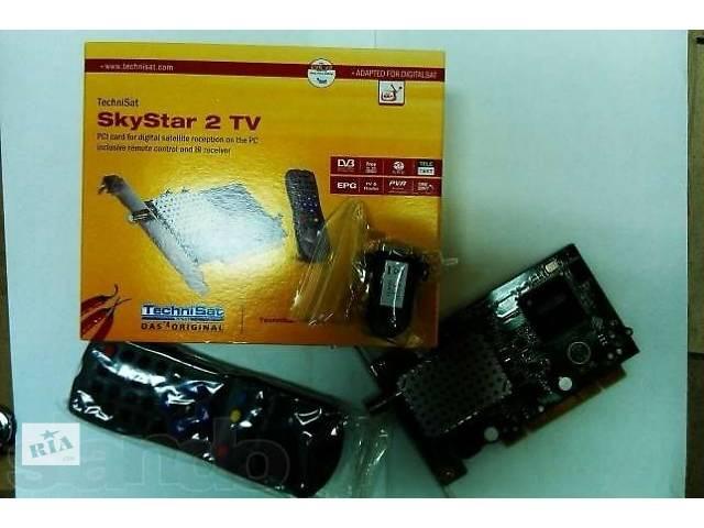 продам Продам тюнер DVB SkyStar2 TechniSat PCI новый,в упаковке с пультом недорогo бу в Киеве
