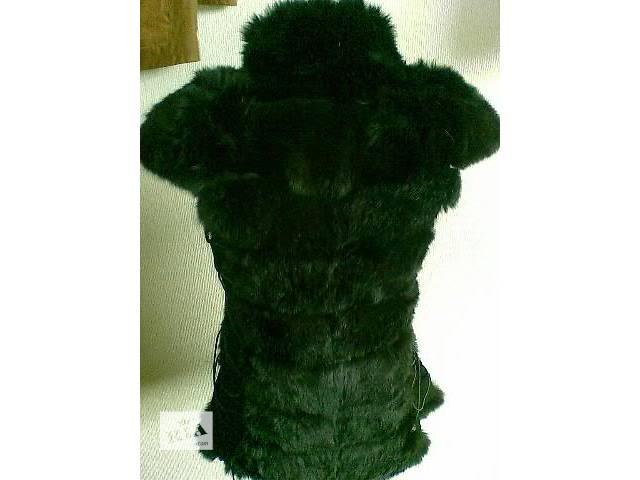 Продам жилет модель «универсал» из натурального меха кролика.- объявление о продаже  в Чугуеве