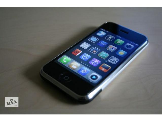 купить бу Продаю Дешево оригинал США Б/у Apple iPhone 3g 16gb в Киеве
