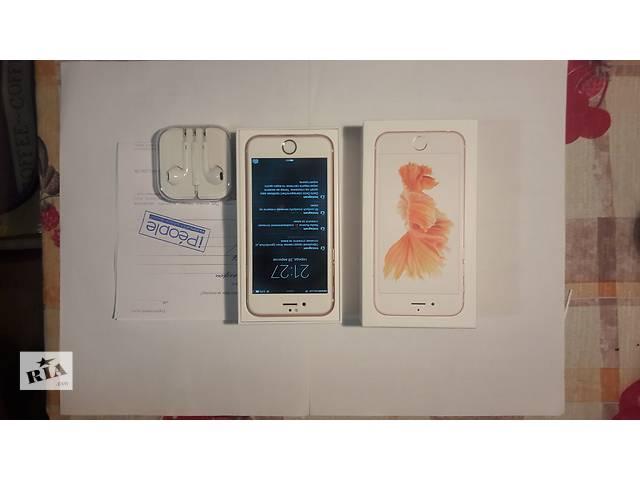 бу Продаю IPhone 6s 16 gb Rose с гарантией! в Тернополе