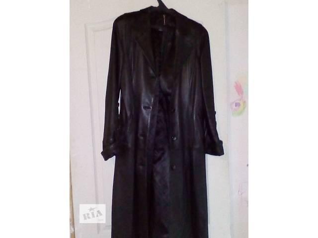 купить бу Продаю кожаное пальто в Николаеве