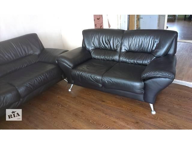 Продаю кожаные диваны 2+3.- объявление о продаже  в Николаеве