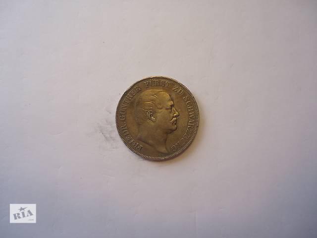 продам Продаю монету талер, Шварцбург, 1866 год. Серебро. бу в Киеве