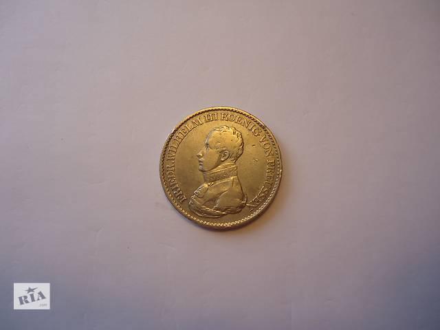 бу Продаю монету таллер, Пруссия, 1819 год. Серебро. в Киеве