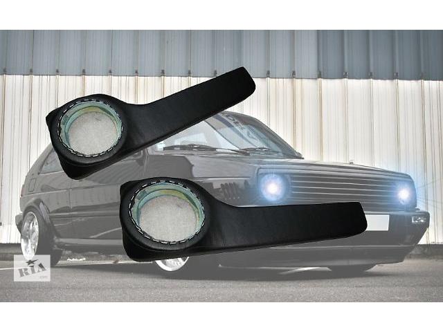 Продаю на Volkswagen Golf II акустические подиумы с карманами под динамики,изготовлены с фанеры, прочно обтянуты кожзамо- объявление о продаже  в Сумах