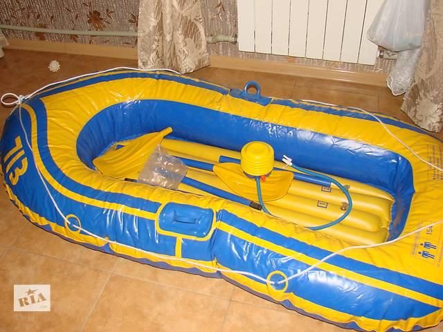 продам продаю надувную лодку бу в Харькове