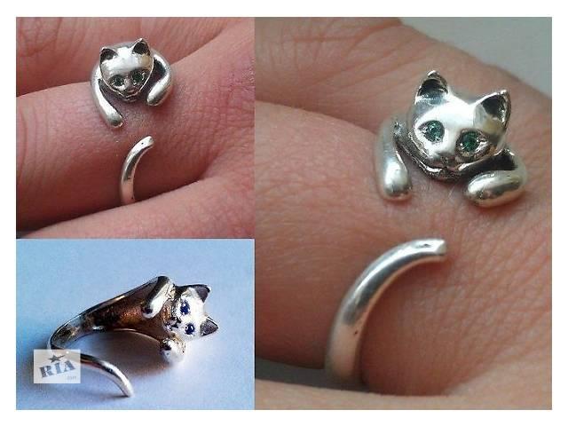 купить бу Продаю серебряное кольцо Кошка в Белой Церкви
