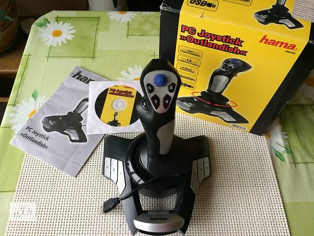Продаю вибро джойстик  Hama Outlandish 62866, производство – Германия- объявление о продаже  в Киеве