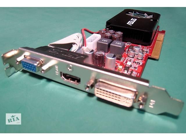 купить бу Продаю видеокарту ATI Radeon HD3450 (Asus)/AGP8x/512МB GDDR2/VGA/DVI/HDMI в Киеве