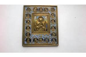 Старинные бронзовые иконы