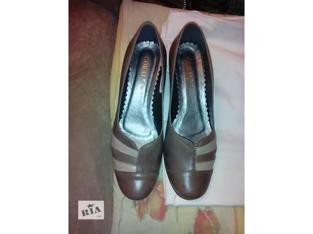 продам Продаю женские кожаные туфли бу в Киеве