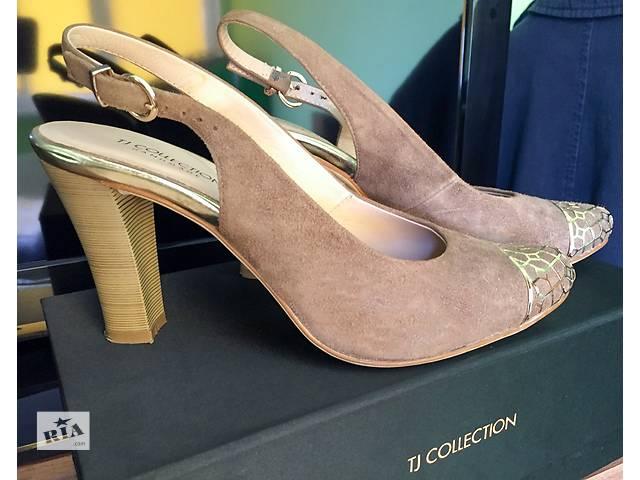Продаю женские туфли из замши tj collection- объявление о продаже  в Киеве