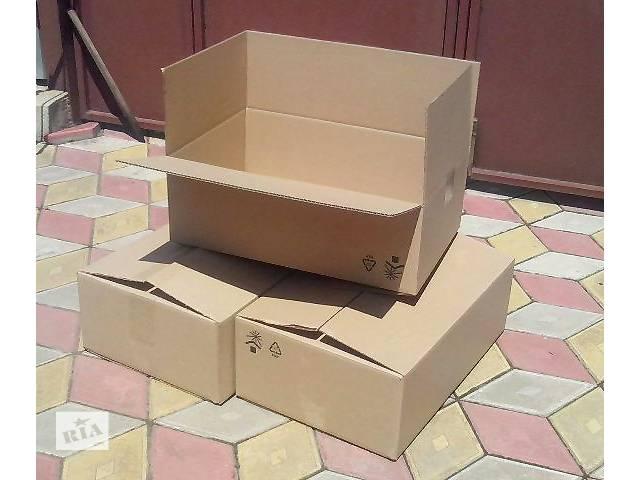 продам Продаю картонные коробки б\у (59х39х20)см. бу  в Украине