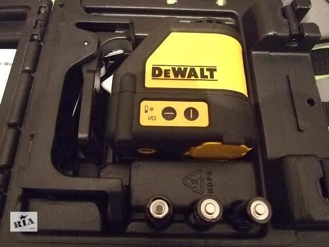 Лазерный уровень DeWalt