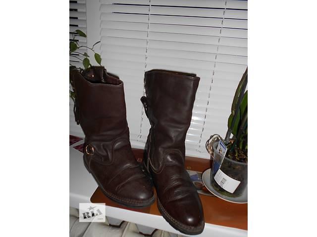 купить бу Продажа женских сапог новые кожаные 38 размер -производитель Австрия.Запорожье-Хортицкий район. в Запорожье