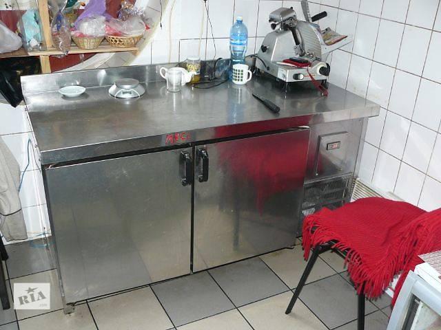 Продажа двухдверного холодильного стола б/у для кафе, бара, ресторана- объявление о продаже  в Киеве