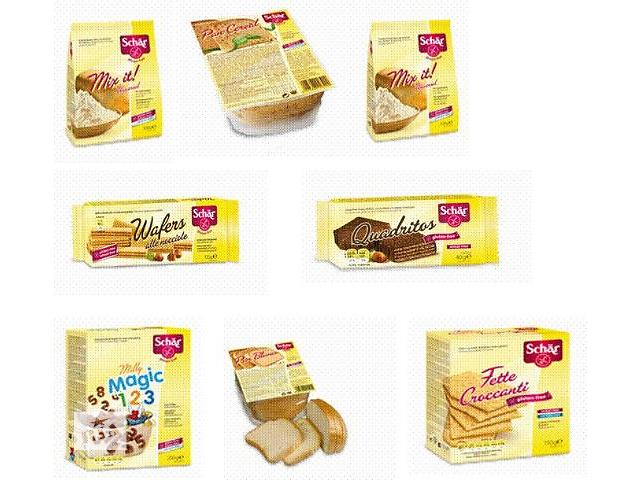 продукти без глютена хлеб, макароны, вафли, печенье ,пекарские смеси и- объявление о продаже  в Киеве