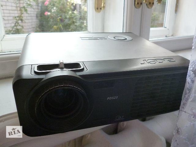 купить бу Проектор Acer PD523 Ярко:2400 люм.Контр:2000:1Раз:1024x768 в Днепре (Днепропетровске)