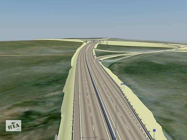бу проекты автомобильных дорог любой сложности  в Украине