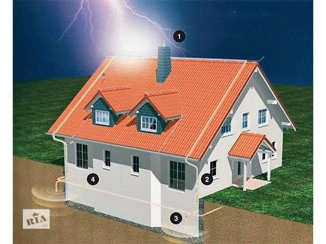 купить бу Проекты по освещению, заземлению, молниезащите.  в Украине