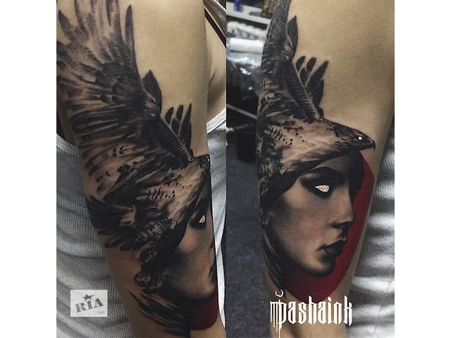 продам Художественная тату Киев, татуировки, эскизы бу в Киеве