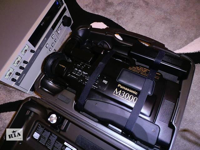 купить бу Профессиональная VHS видеокамера Panasonic M3000 в Киеве