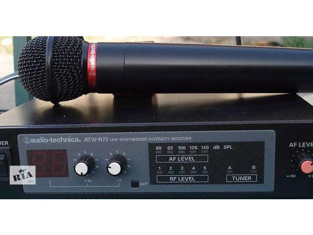 купить бу Профессиональный радио микрофон Audio-technica ATW-R73 в Белой Церкви (Киевской обл.)