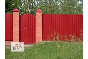 Профнастил от производителя Киев, профнастил для забора и крыши Киев, металлочерепица от производителя Киев, все цвета