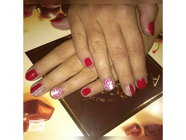 купить бу Предлагаю услуги маникюра, покрытие ногтей гель-лаком и художественной росписи. в Луцке