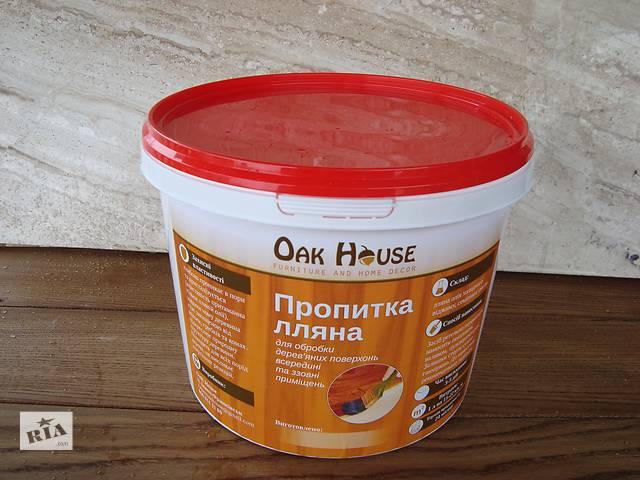 Для дерева пропитка лляная 0.5 л.- объявление о продаже  в Тернополе