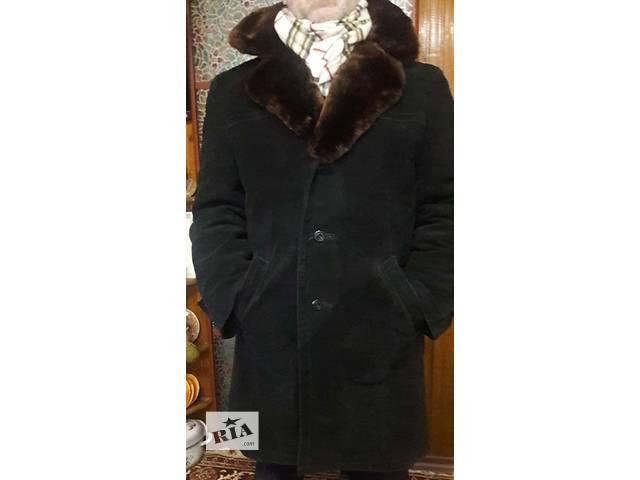 продам прордам мужскую зимнюю замшевую куртку бу в Виннице