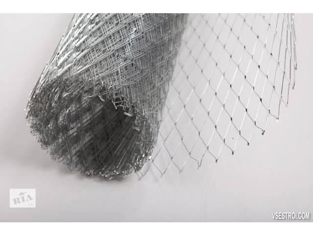 продам Просечно-вытяжная сетка, сетка рабица, колючая проволока, столбы, кладочная сетка бу в Черновцах