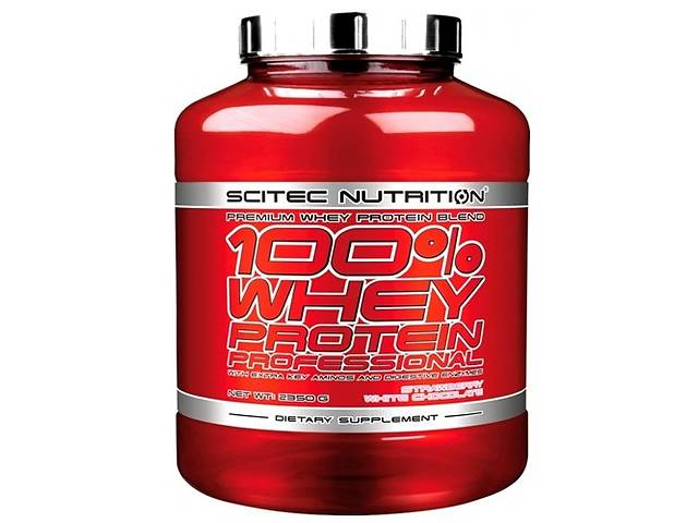 купить бу Протеин Scitec Nutrition 100% Whey Protein Professional 2350 г в Киеве