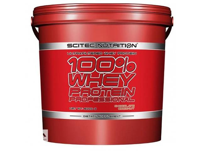 Протеин Scitec Nutrition 100% Whey Protein Professional 5000- объявление о продаже  в Киеве