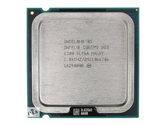 купить бу Процессор 775 Intel Core 2 Duo E6300 2x1,86 GHz 1066 FSB в Краматорске