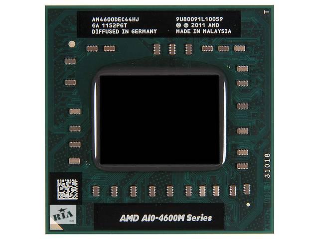 купить бу Процессор AMD A10-4600M (AM4600DEC44HJ) БУ 2600 руб в Донецке