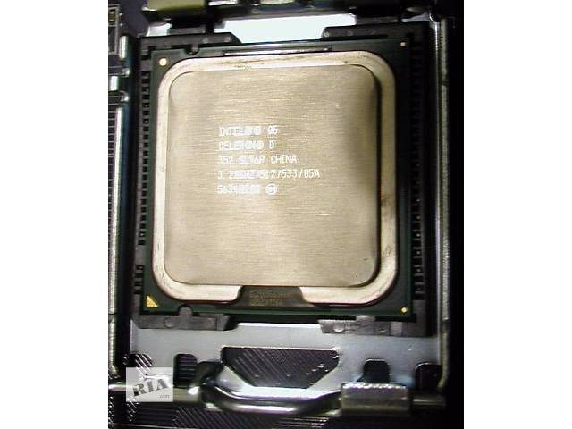 бу Процессор - Intel Celeron D 352 3.20GHz 533 Socket 775 CPU Processor SL96P в Одессе