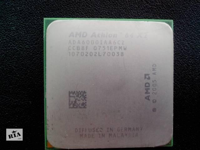 продам Процессоры AMD Athlon 64 X2 6000+ s.AM2 (3000 Mhz) бу в Никополе